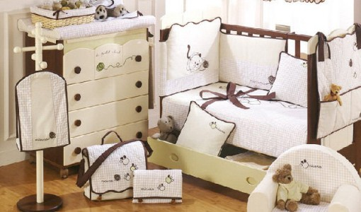LePetitChatCollectionConvertableCotMiniBedandDresserbath
